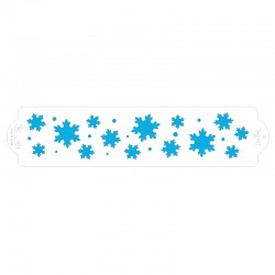 Stencil frozen star - Decora