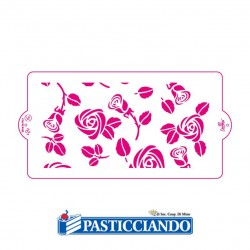 Vendita on-line di Stencil rose Decora