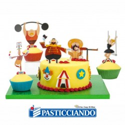 Selling on-line of Pick decora torta circo