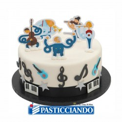 Vendita on-line di Picks decora torta musica Decora