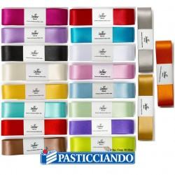 Selling on-line of Nastro doppio raso 2,5cm Decora