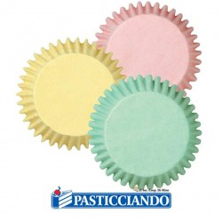 Selling on-line of Pirottini mini muffin pastello Decora