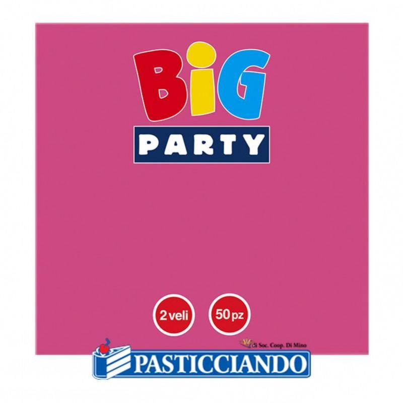 Tovaglioli vari colori - Big Party