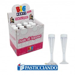 Vendita on-line di Bolle di sapone flute Big Party