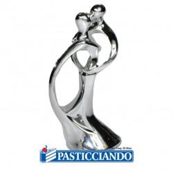 Vendita on-line di Sposi stilizzati argento Modecor