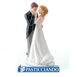 Vendita on-line di Sposi dolce baciamano Dekora