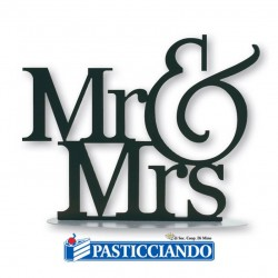 Vendita on-line di Sagoma metallo Mr&Mrs Floreal