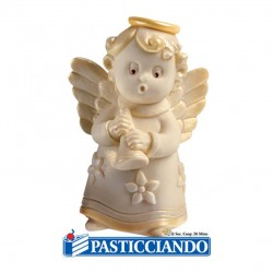 Selling on-line of Stampo in silicone angelo con cornetta Martellato