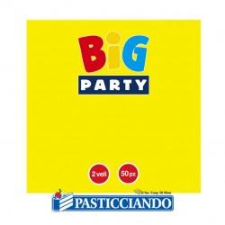 Tovagliolini vari colori Big Party in vendita online
