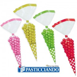 Selling on-line of Sacchettini cono pois