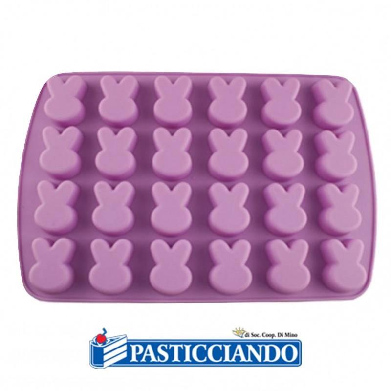 Stampo coniglietti in silicone - Wilton