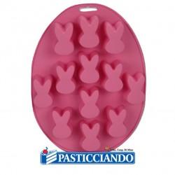 Selling on-line of Stampo coniglietti in silicone