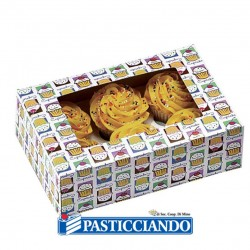 Selling on-line of Scatola per cupcake Wilton