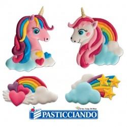 Vendita on-line di Unicorno nuvola zucchero Floreal