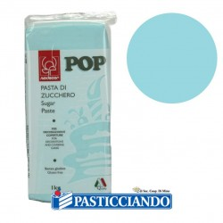 Selling on-line of Pasta pop azzurro confetto