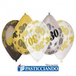 Vendita on-line di Palloncini 30 anni Big Party