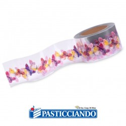 Vendita on-line di Nastro acetato farfalle Modecor