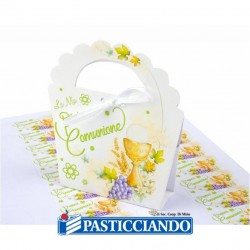 Selling on-line of Kit 25 portaconfetti comunione