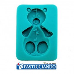 Selling on-line of Stampo orsacchiotto silicone GRAZIANO