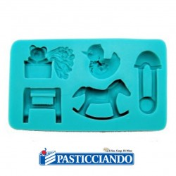 Selling on-line of Stampo infanzia silicone