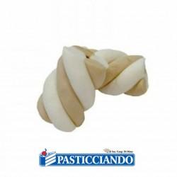 Vendita on-line di Estruso treccia bianco tortora Bulgari