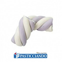 Selling on-line of Estruso treccia bianco glicine
