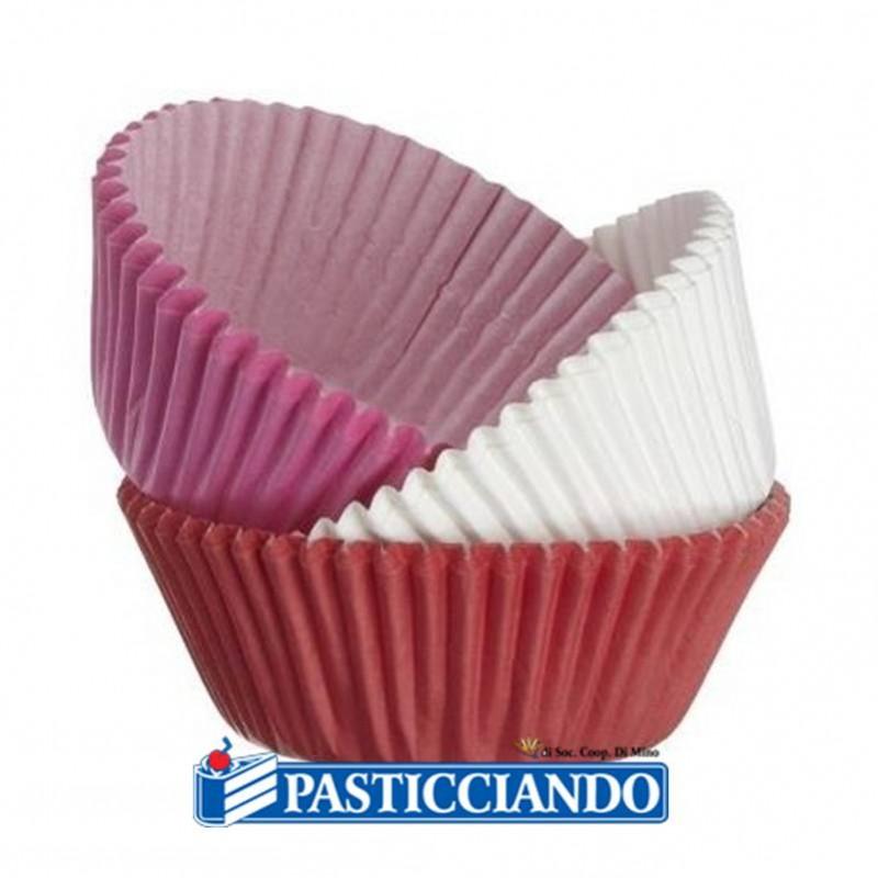 Pirottini rosa fucsia bianchi - Decora
