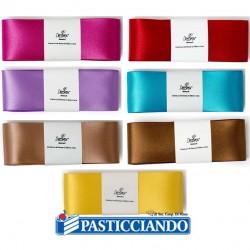 Selling on-line of Nastro doppio raso 4cm Decora