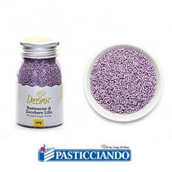 Vendita on-line di Bastoncini di zucchero lilla Decora