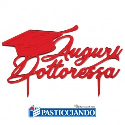 Selling on-line of Auguri Dottoressa Floreal