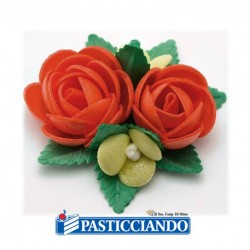 Selling on-line of Bouquet rose rosse GRAZIANO
