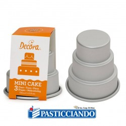 Vendita on-line di Stampo mini wedding cakes Decora
