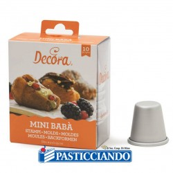 Selling on-line of Stampo mini babà Decora