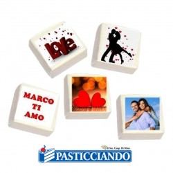 Selling on-line of Marshmallow personalizzati