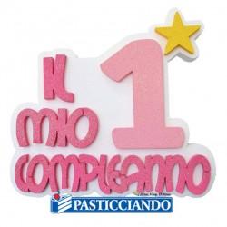 Vendita on-line di 1 Compleanno rosa Biribao