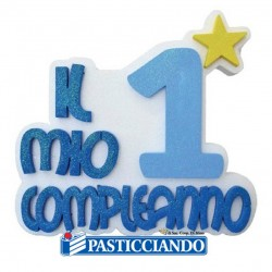 Selling on-line of 1 Compleanno celeste