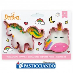 Vendita on-line di Tagliapasta magic unicorno Decora