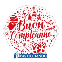 Selling on-line of Stencil compleanno