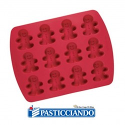 Vendita on-line di Stampo in silicone gingerbread Wilton