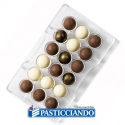 Selling on-line of Stampo cioccolatino 1/2 sfera Decora