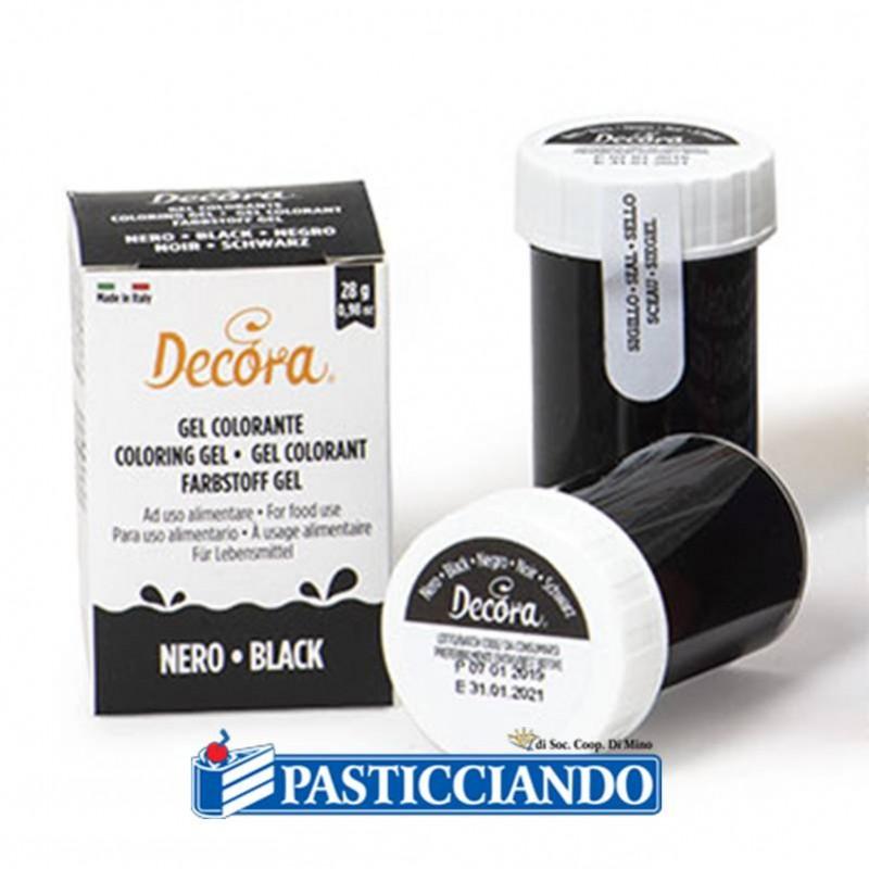 Gel colorante nero - Decora