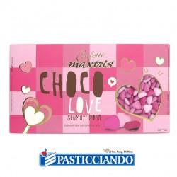 Vendita on-line di Confetti cuori piccoli sfumati rosa Maxtris