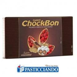 Vendita on-line di Confetti chockbon rossi Maxtris