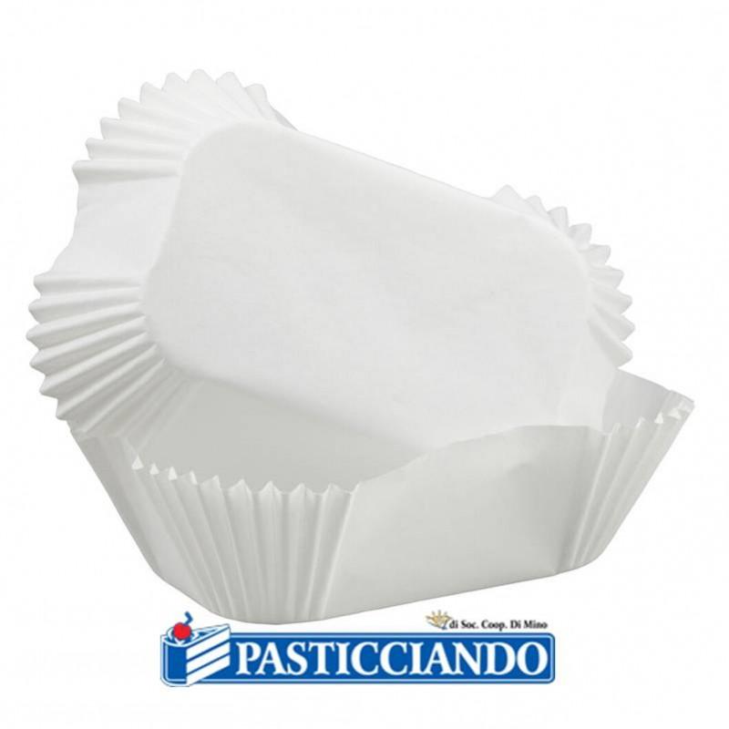 Pirottini bianchi plumcake - Wilton
