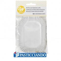 Pirottini bianchi plumcake Wilton in vendita online