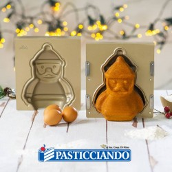 Selling on-line of Stampo 3D Babbo Natale Decora