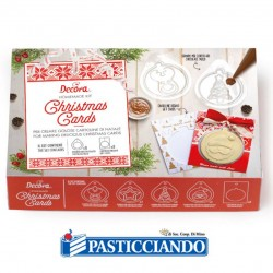 Vendita on-line di Christmas card decora