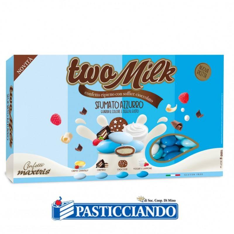 Confetti Two Milk sfumato azzurro - Maxtris