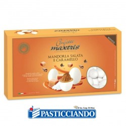 Vendita on-line di Confetti mandorla salata e caramello Maxtris