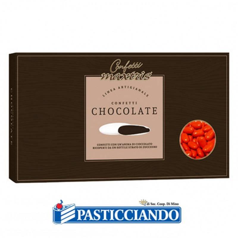 Confetti rossi al cioccolato - Maxtris